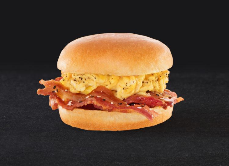 Honey Sesame Bacon Sandwich