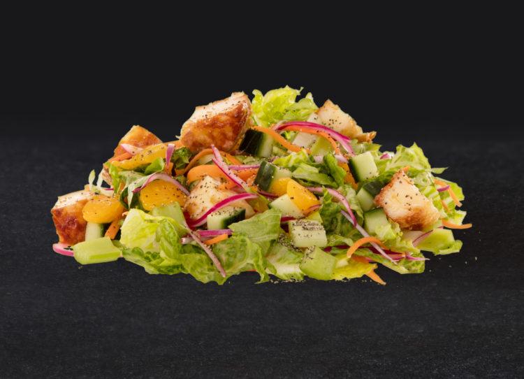 Crispy Halloumi Salad